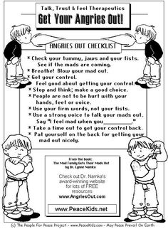 Anger Control Kit: Get Your Angries Out! - the healing path with children