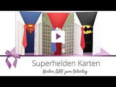 Coole DIY Superhelden Vatertagskarte | DANATO Magazin