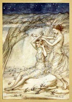 Sabrina - Fair Goddess of the Severn