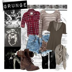 Grunge-inspired by Kurt Cobain Kurt Cobain Style, Cool Outfits, Fashion Outfits, Fashion Ideas, Clothes Encounters, Punk, Grunge Fashion, Alternative Fashion, What To Wear