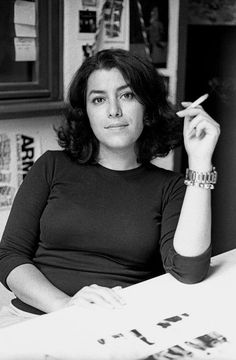 Marjane Satrapi, I love her autobiographical novel,Perspolis.