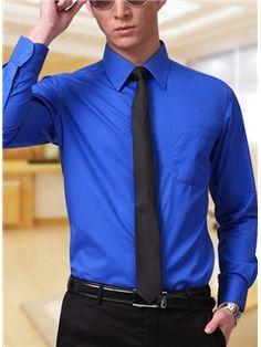 nwot express 1mx royal blue extra slim fit mens dress