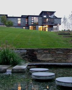 Berkshires House XIII in West Stockbridge, MA by Burr & McCallum Architects