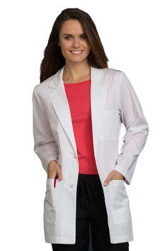 "Classic Women's Mid-Length 33"" Lab Coat"