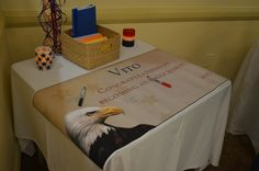 Eagle Scout Court of Honor guest book. This was a banner made at Staples. Cub Scouts, Girl Scouts, Eagle Scout Cake, Fun Call, Eagle Scout Ceremony, Lds Youth, Scout Activities, Projects To Try, Banner