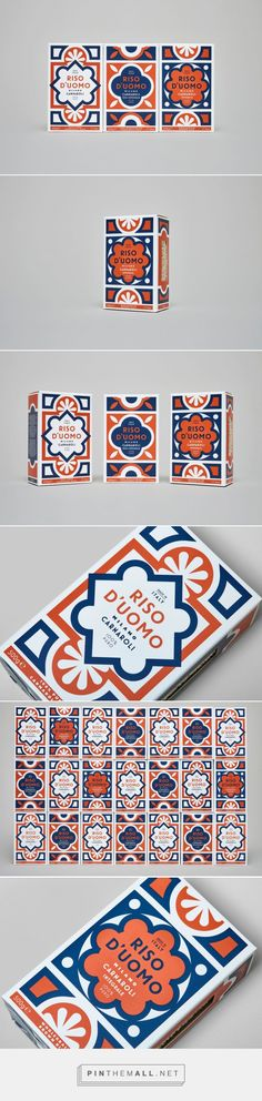The Design For This Rice Brand Was Inspired By an Italian Cathedral's Floor Tiles — The Dieline | Packaging & Branding Design & Innovation News - created via https://pinthemall.net