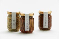 わさび漬 3種 - Daikoku Design Institute