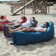 Instant Air Indoor/Outdoor Inflatable Bed-Chair!