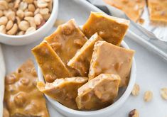 Peanut Brittle Recipe   Made in the Microwave! - Passion For Savings Easy Microwave Peanut Brittle Recipe, Homemade Peanut Brittle, Christmas Food Gifts, Christmas Cooking, Christmas Candy, Christmas 2019, Christmas Recipes, Xmas Gifts, Outdoor Christmas