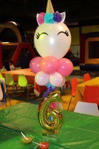 Centros de mesa de unicornio Unicorn Centerpiece, Birthday Centerpieces, Birthday Party Decorations, Birthday Ideas, Unicorn Birthday Parties, First Birthday Parties, First Birthdays, Unicorn Themed Birthday, Rainbow Birthday