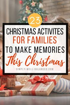 Fun Christmas Traditions to Start with Your Family - Super fun Christmas activites and traditions for families! Ideas for Christmas Eve, Christmas Morni - Christmas Activities For Families, Christmas Eve Traditions, Its Christmas Eve, Traditions To Start, Christmas Games For Kids, Christmas Activites, Holidays With Kids, Christmas Morning, Simple Christmas