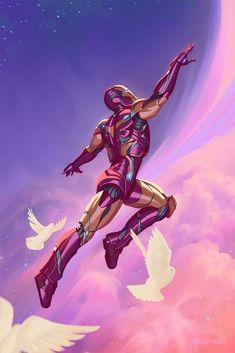 Marvel Comic Universe, Comics Universe, Captain Marvel, Marvel Avengers, Marvel Art, Iron Man Fan Art, Rogue Comics, Iron Man Wallpaper, Marvel Wallpaper