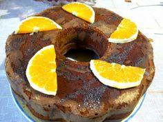 Πορτοκαλόπιτα με ολόκληρα πορτοκάλια και σοκολάτα !!! ~ ΜΑΓΕΙΡΙΚΗ ΚΑΙ ΣΥΝΤΑΓΕΣ Doughnut, French Toast, Cheesecake, Eggs, Breakfast, Sweet, Desserts, Food, Morning Coffee