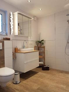 Wc Design, House Design, Beautiful Bathrooms, New Room, Bathroom Storage, Double Vanity, Future House, Sweet Home, Home And Garden