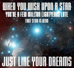 Astronomy Is Depressing