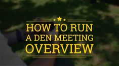 Den Leader Tips & Tricks Video Series | Boy Scouts of America