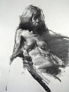 "Saatchi Art Artist Zin Lim; Drawing, ""Figure#D06"" #art"