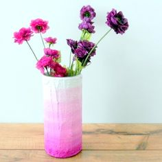 Shade up your decor with these quirky ombre do-ables #quirkitdesign #ombre #homedecor #DIY #hobby #redesign #upcycle #creativity #craft #style #makeover #QID