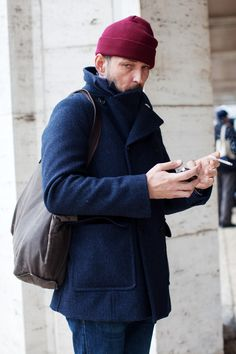 """""""to achieve the nonchalance which is absolutely necessary for a man, one article at least must not match."""" - hardy amies. via the sartorialist"""