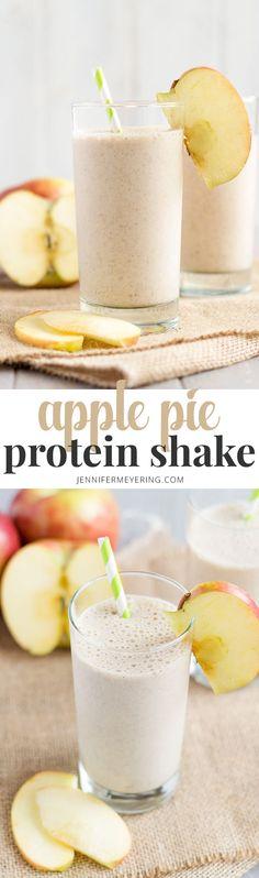Apple Pie Protein Shake | JenniferMeyering.com