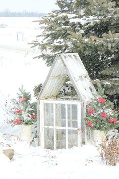 pretty snow scene