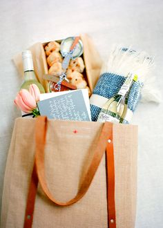 Relaxing Wedding Welcome Bags | Brides.com