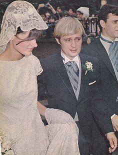 David McCallum and Katherine Eaton Carpenter,16 September 1967)