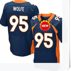 $66.00--Derek Wolfe Jersey - Nike Stitched Jersey - Denver Broncos  Jersey,Free Shipping! Buy it now:http://is.gd/9dybwf