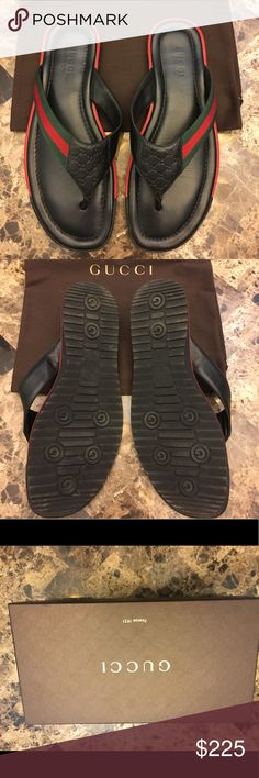 Gucci sandals Used authentic Gucci sandals. Men's size 11. In good shape Gucci Shoes Sandals & Flip-Flops
