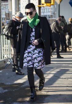 #NYFW Street Style Day 6 / Credit: Raydene Salinas