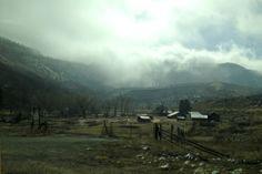 Farm outside Lyons, Colorado. By Calm Cradle Photo & Design. #farm #rockymountains #calmcradle