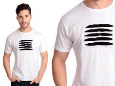 Camiseta Scratch | Cód.5021 | Camiseta com recortes frontais à laser. Malha 100% algodão.