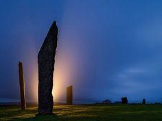 Trovate nelle Orcadi strutture antecedenti a Stonehenge....