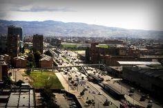 Panoramica del sur de Bogotá