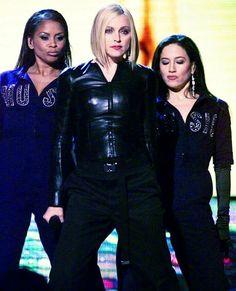 "On February Madonna performed ""Music"" at the 2001 Grammy Awards Madonna Music, Madonna 80s, Best Female Artists, Madonna Photos, Rock & Pop, Geena Davis, Musica Pop, Some Girls, Business Women"