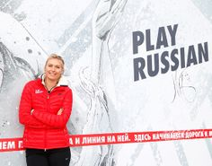 Sharapova joined Nike to reopen her revamped hometown tennis court the court where she played tennis has a kid, for the Kid's Tennis Academy. #Sugarpova #nike #laconfidential
