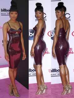Keke Palmer slays the pink carpet of the 2016 Billboard Music Awards held at the T-Mobile Arena in Las Vegas on May 22, 2016