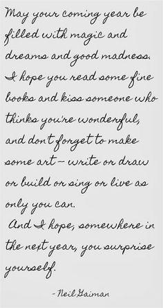 a sweet new year's toast. #nye #2014