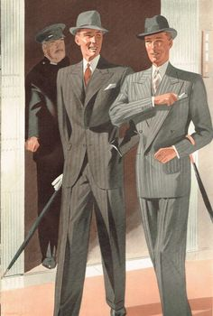 Fashion Illustration from a British company called Thexton & Wright