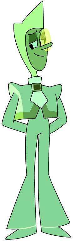 "Zircon is a Homeworld Gem who served as the prosecutor during Steven's trial. She made her debut in ""The Trial"". Zircon shares a similar appearance and attire as the defending Zircon. While only seen tinted as green, it has been confirmed that she is a yellow Gem."
