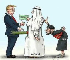 "Trump fight the ""Islamic Terrorism !  He as well as  Hillary and most of USA Presidents in past 50 years of have only been a tool for the deep state.! #Politic #USA #America #DonaldTrump #President  #HillaryClinton  #Cartoon #Terrorism #Military #Russia #War #knowledge #info"