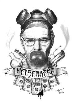 Heisenberg. by topunto.deviantart.com on @deviantART
