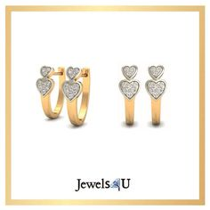 Shop for these beautiful earrings only on jewels4u.in
