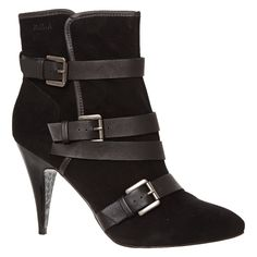 Black Ankle High Boots for £24.99 #fabfind