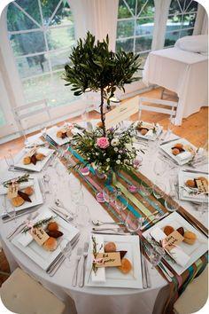 Id e de th me pour un mariage l 39 olivier tout un symbole - Pinterest centre de table ...