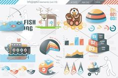 Infographic Elements (v19) by Infographic Paradise on @creativemarket