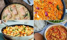 4 gode middagstips Penne, Cheddar, Curry, Ethnic Recipes, Food, Pineapple, Curries, Cheddar Cheese, Essen