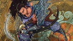 Yasuo Fan Art  by kumagzter