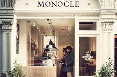 Monocle Cafe in London