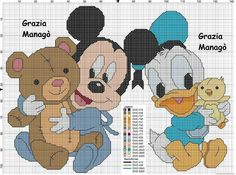 Bambini disney ~ Baby mickey mouse x stitch yarn pinterest baby mickey mouse